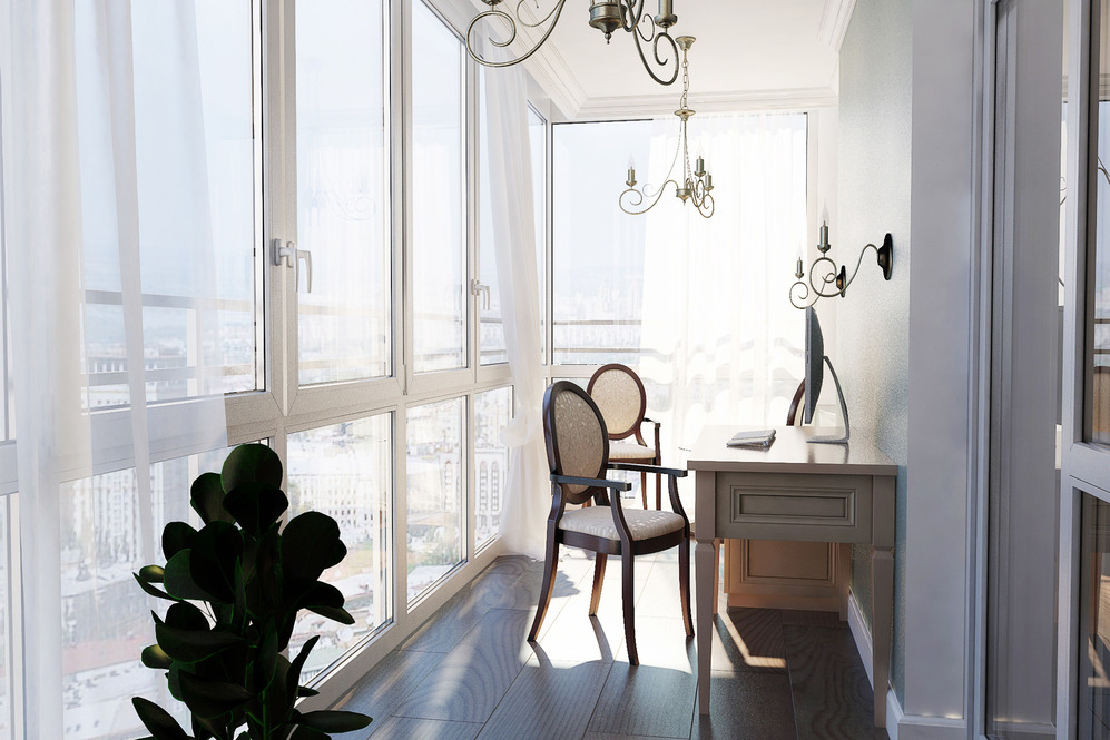 шторы на французский балкон