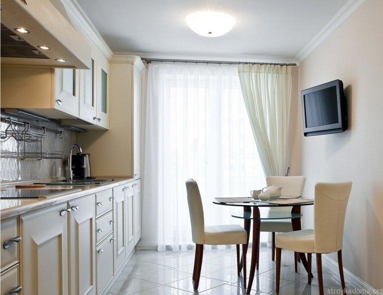 Шторы кухня дизайн интерьера