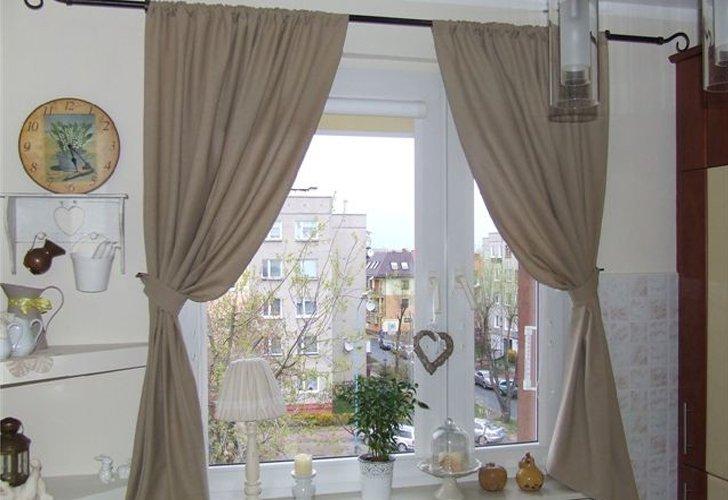 шторы фото на кухне