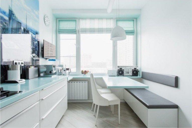 Шторы для кухни: лучшие фото новинок дизайна 2017 года