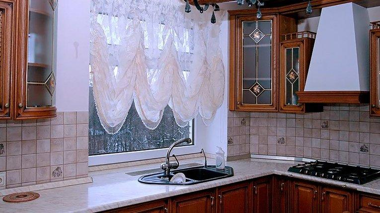 шторы для кухни зала