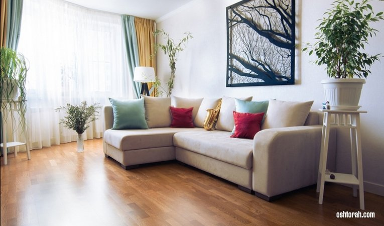 Шторы в интерьере гостиной - Дизайнерские советы