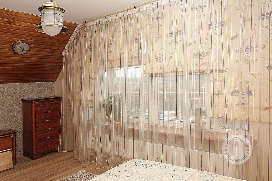 Римские шторы на пластиковые окна: лучшие идеи дизайна