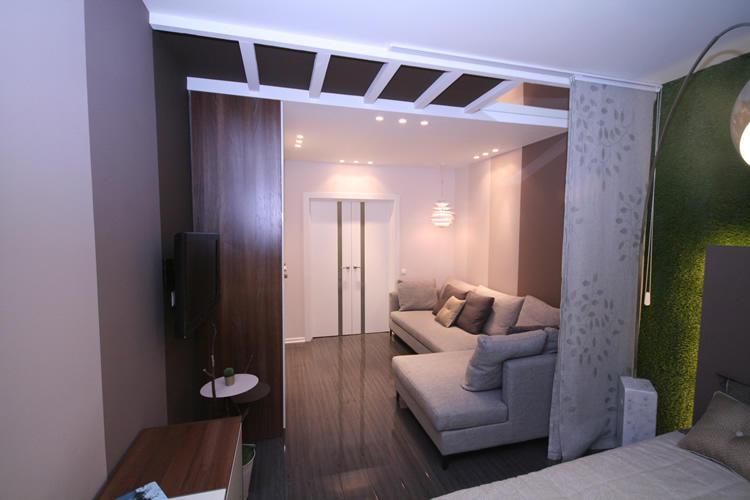 Шторы для разделения комнаты на зоны