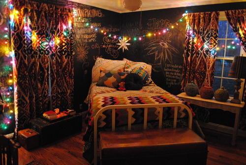 Шторы стиля готика для комнаты девочки