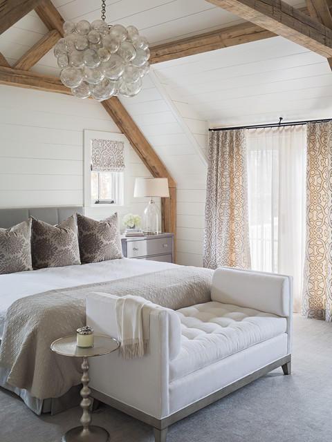 Красивая тюль для спальни