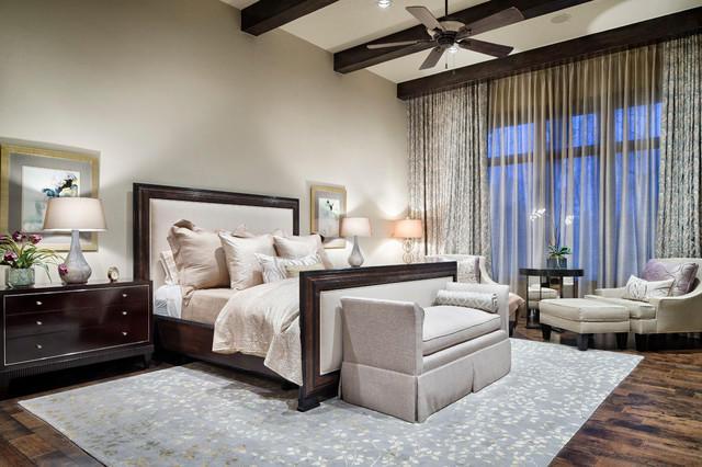 Комбинированные гардины для спальни