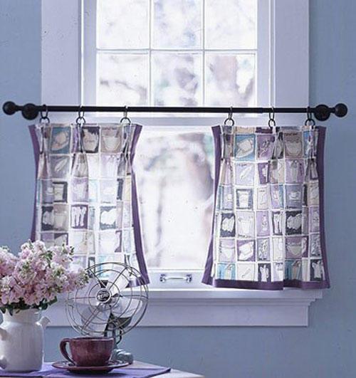 Оригинальные шторы в стиле