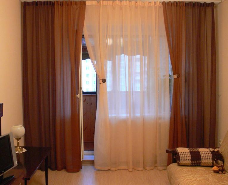 Образцы Штор В Зал Фото С Балконом - фото 11