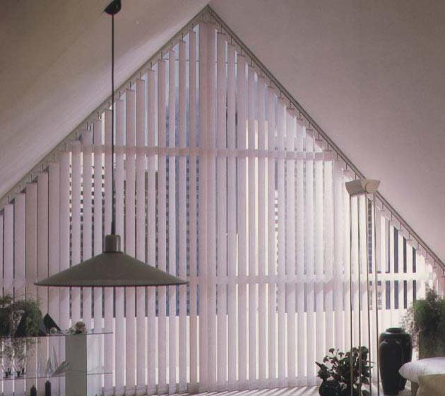 Vorh nge auf atypische fenster - Vorhang dreiecksfenster ...