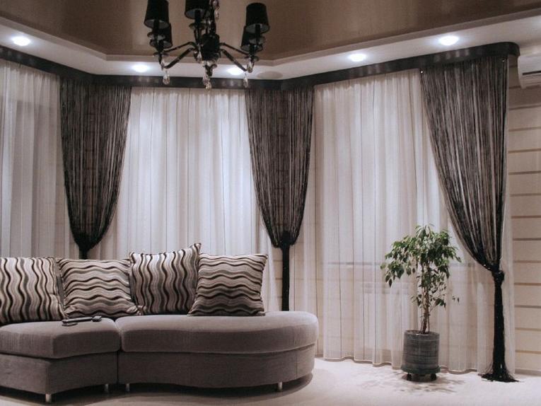 Эскизы штор в современном стиле модные шторы