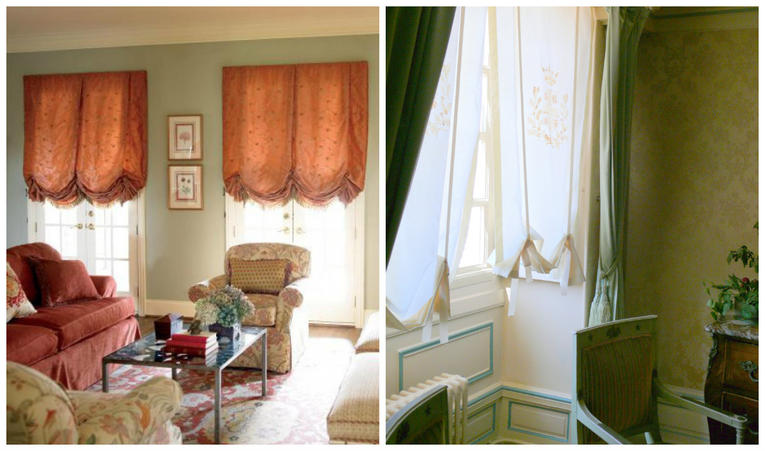 Модные шторы для зала