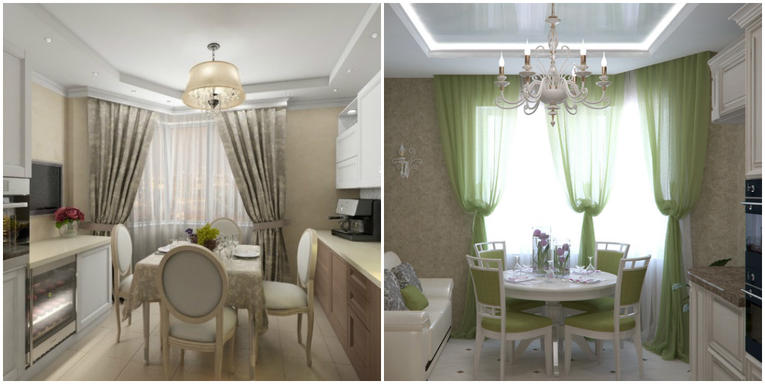 die vorh nge auf dem erker im wohnzimmer foto. Black Bedroom Furniture Sets. Home Design Ideas