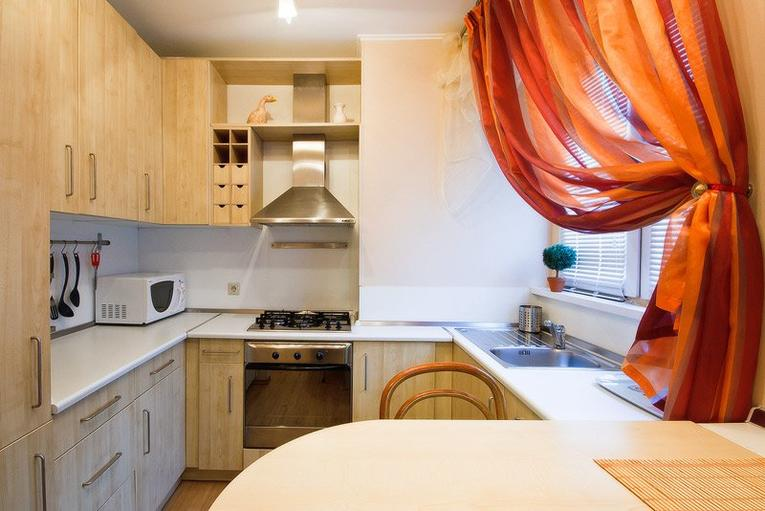 Короткие шторы для кухни: красивые фото с примерами современного дизайна