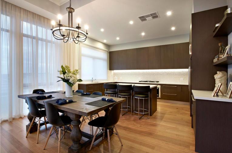 Тюль на кухню: фото современных новинок дизайна 2017 года
