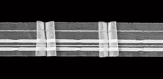 Лента для штор виды складок