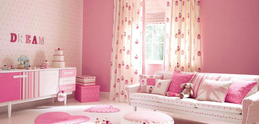 шторы фото в детскую комнату