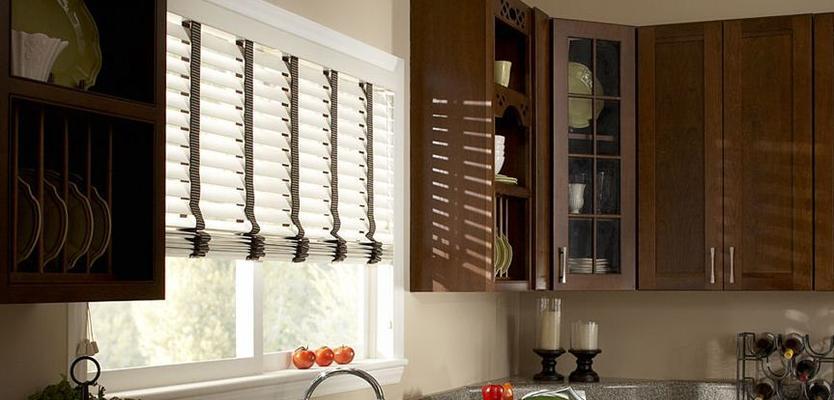 Дизайн жалюзи для кухни фото