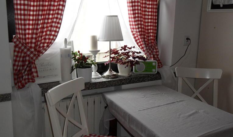 Шторы на маленькую кухню