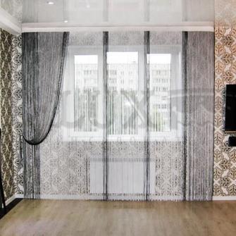 Тюль в зал без штор: фото с новинками дизайна 2017 года
