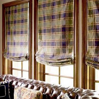 шторы в интерьере дачи