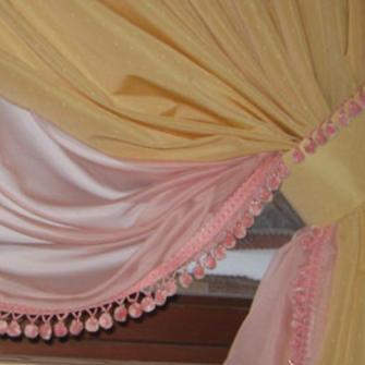 Украшения на шторы своими руками