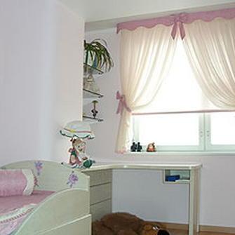 Шторы для деревенского дома с маленькими окнами