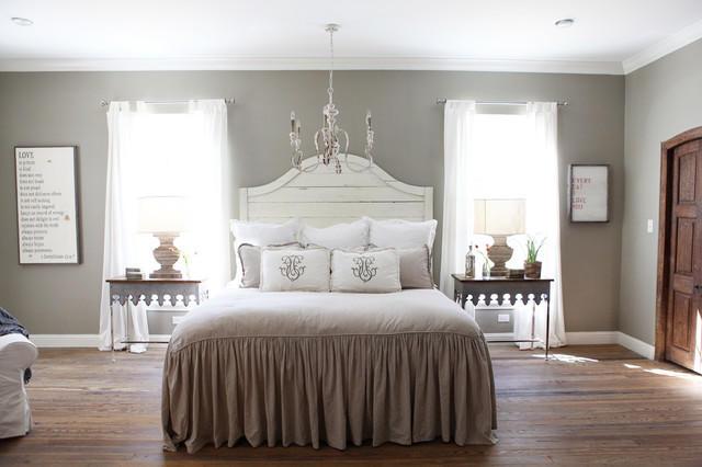 Красивые шторы из вуали для спальни